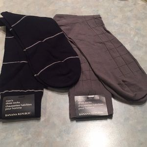 Banana republic men's dress socks
